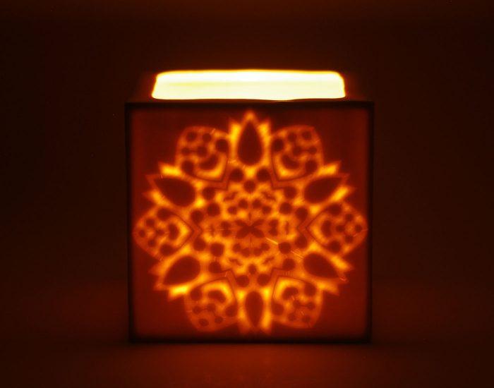 Sternlicht-mit-Kerze